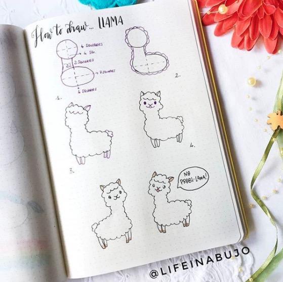 llama-life-in-a-bujo