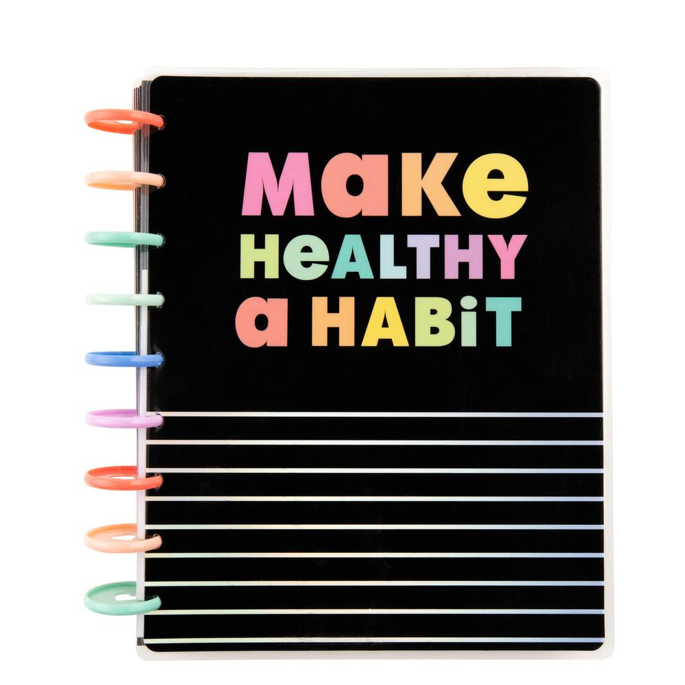 make-healthy-a-habit classic happy fitness planner