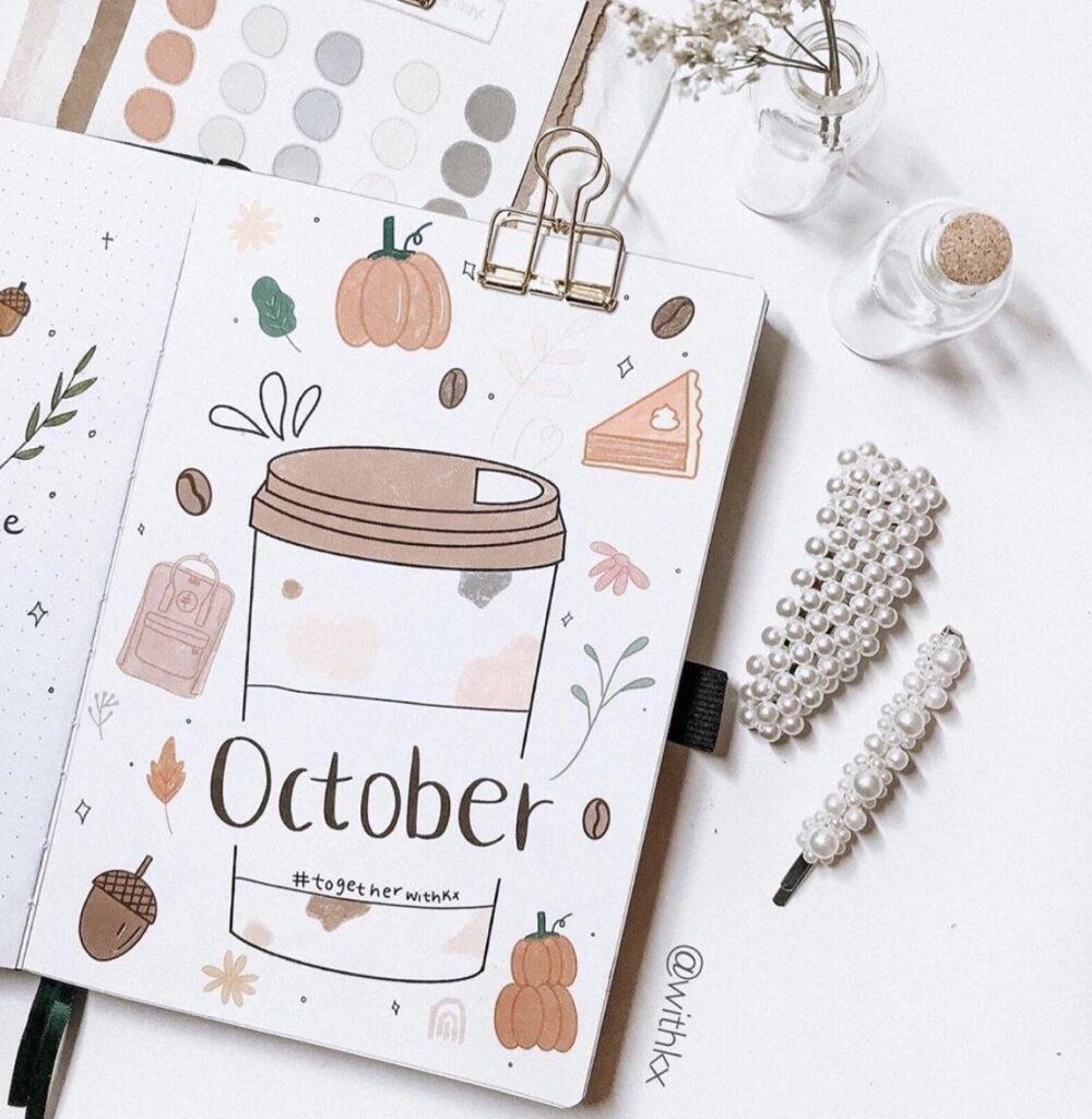 october-coffee-bujo-planner