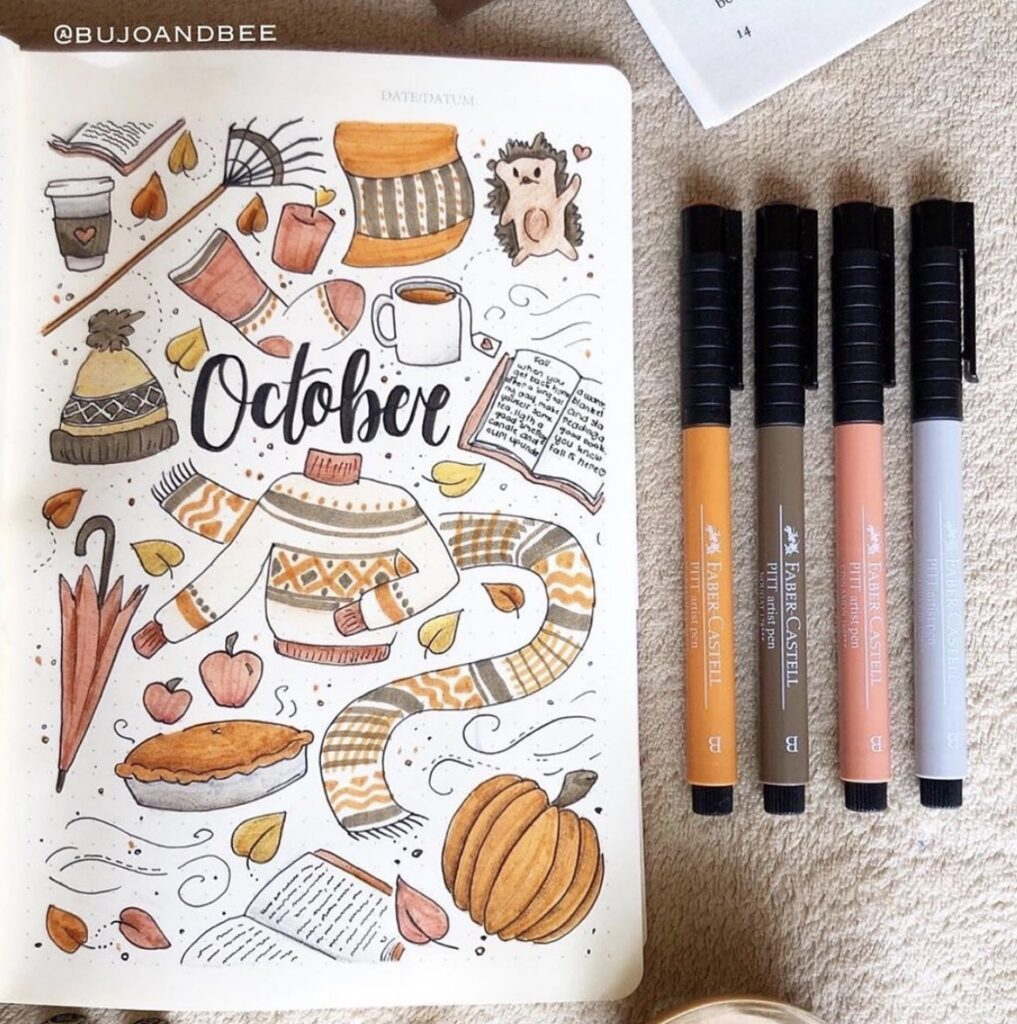 october-things-bujo-and-bee