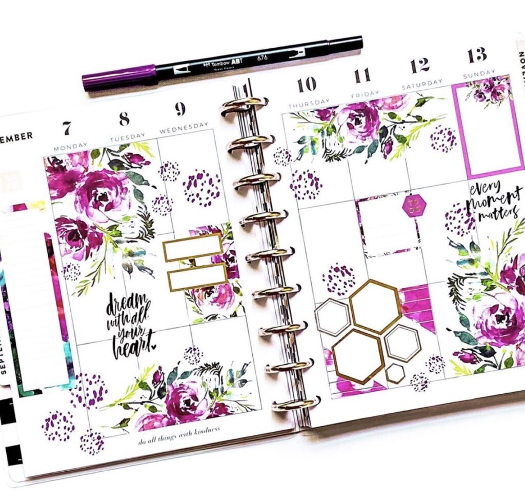 purple-floral-planner-layout-lifewithtrish