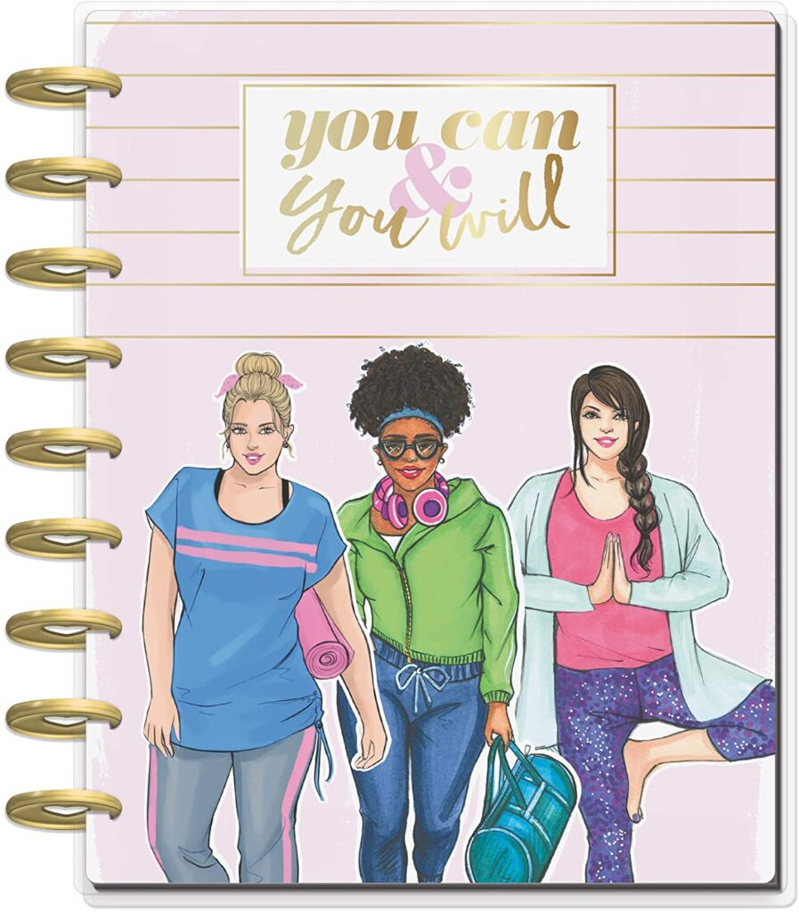 fitness journal by Happy Planner