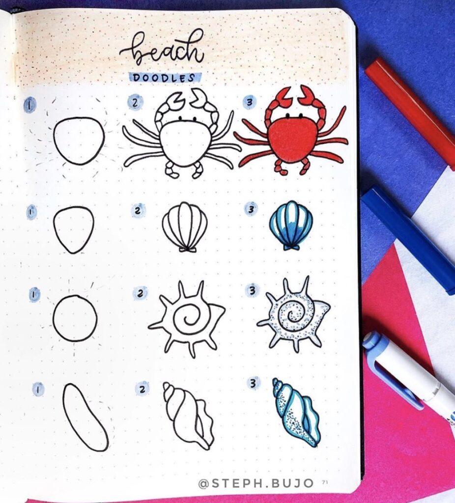 step-by-step-doodles-beach-stephbujo