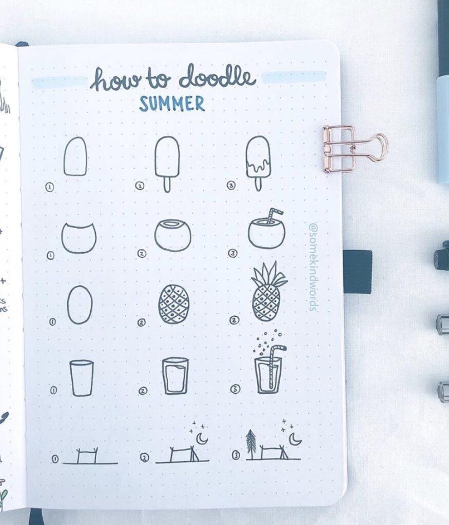 summer-doodles-somekindwords