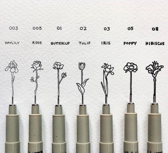tiny-flower-doodles