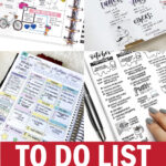 to do list ideas for your bullet journal or planner