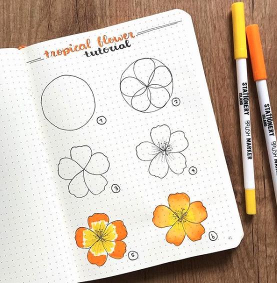 tropical-flower-bujocollector