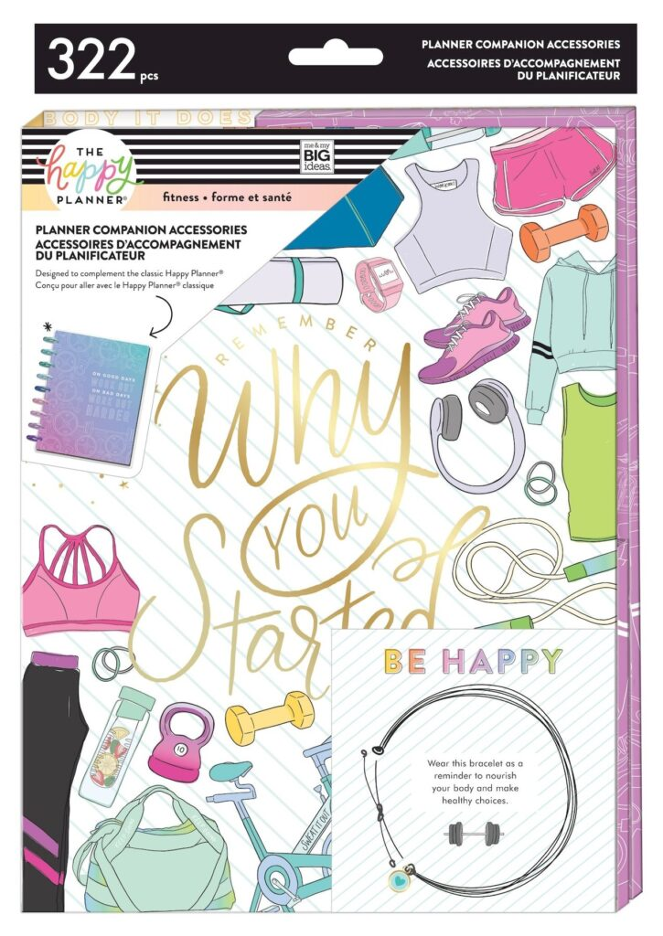 fitness planner companion why you started happy planner