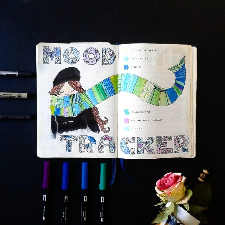 winter scarf mood tracker