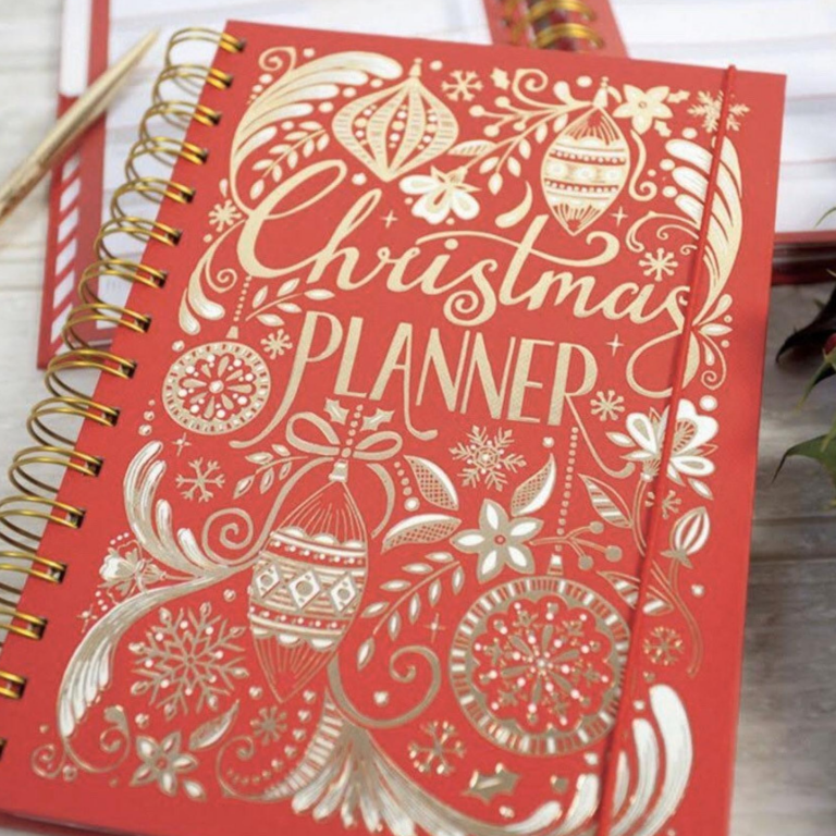 the best printable christmas planners