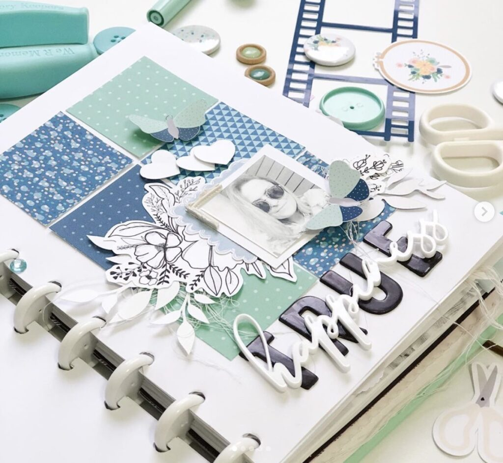 Happy Planner ideas memory-keeping-pages-renatamoni