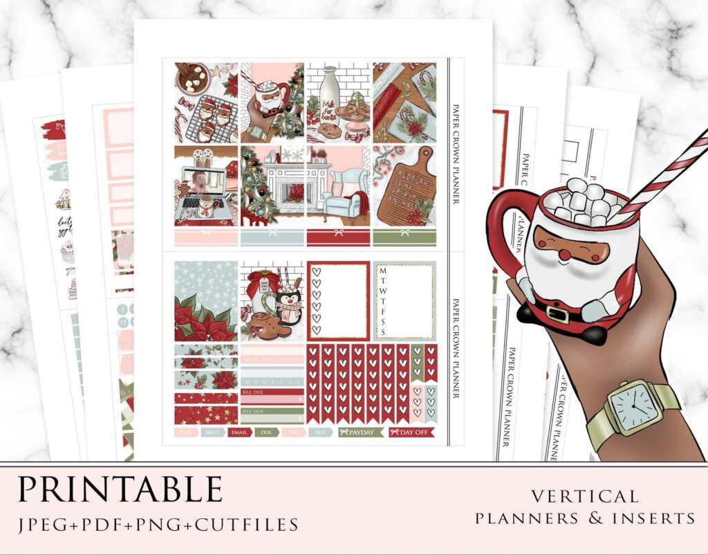 ready-for-christmas-stickers-paper-crown-planner