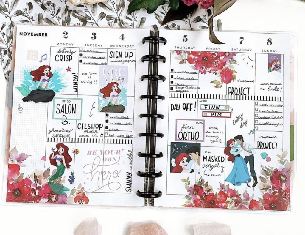the-little-mermaid-layout-happy-planner-cindy