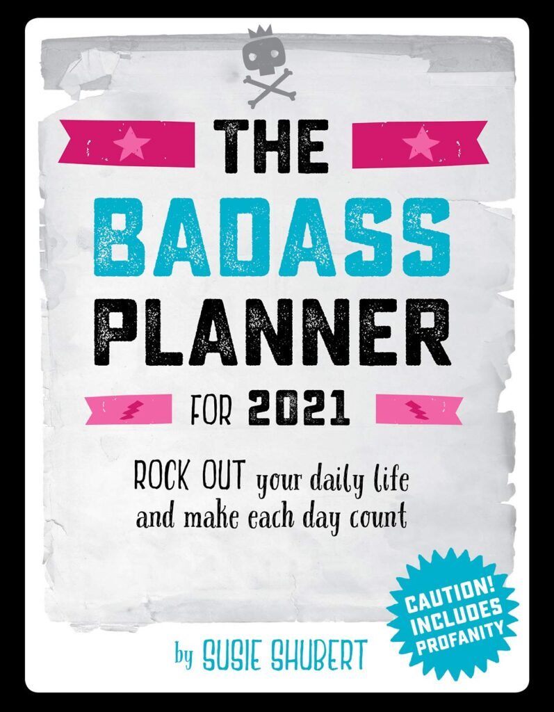 the badass planner for 2021