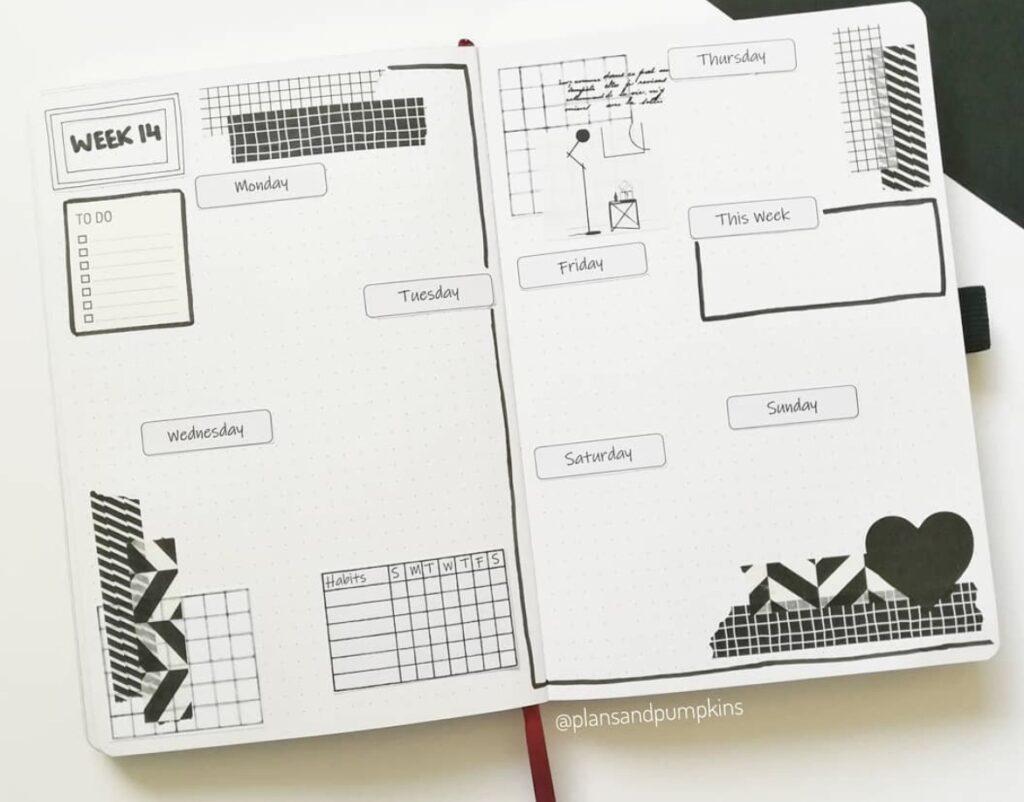 black-white-geometrical-plansandpumpkins
