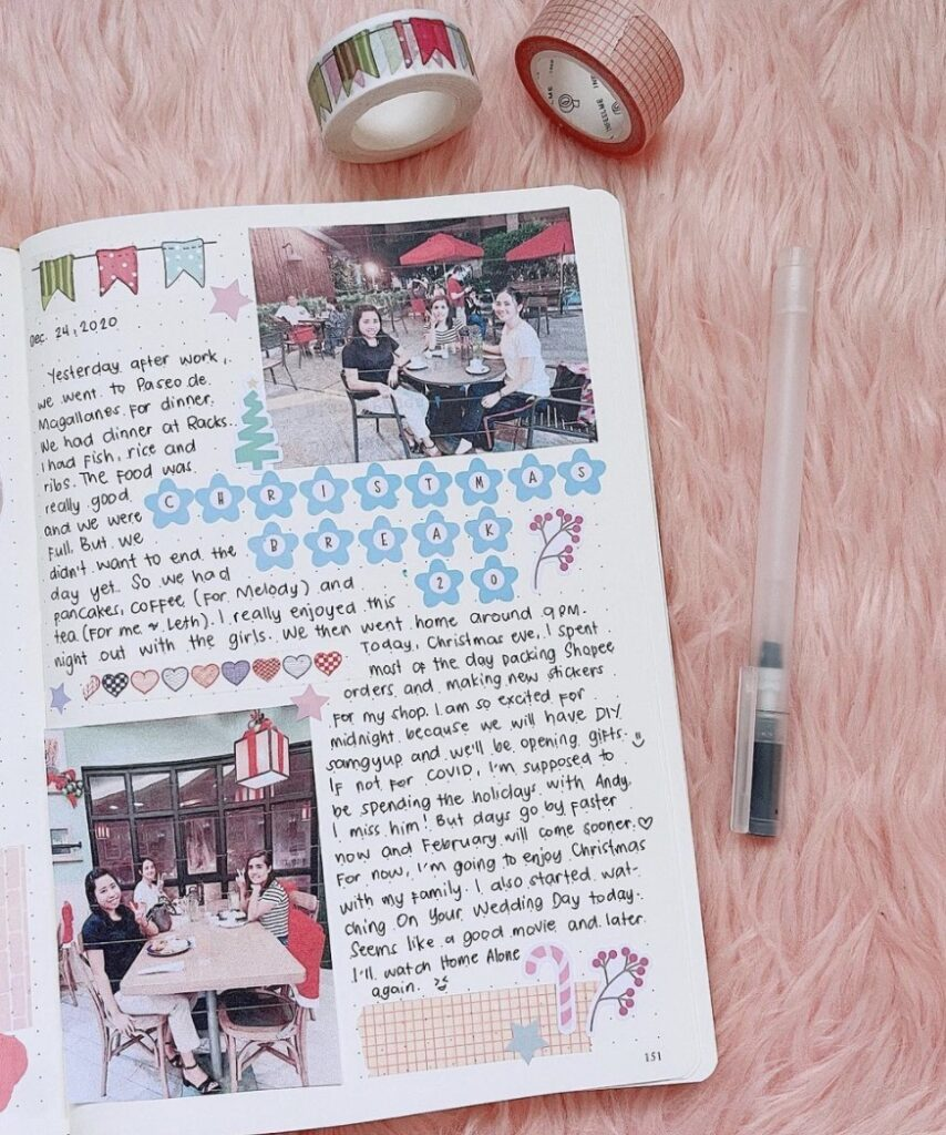 bullet-journal-gratitude-glaizajournals