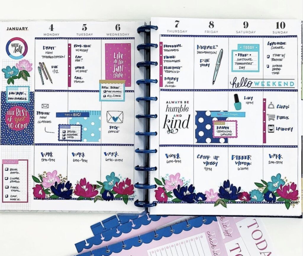 colorful-creative-planner-plannerbabedenise