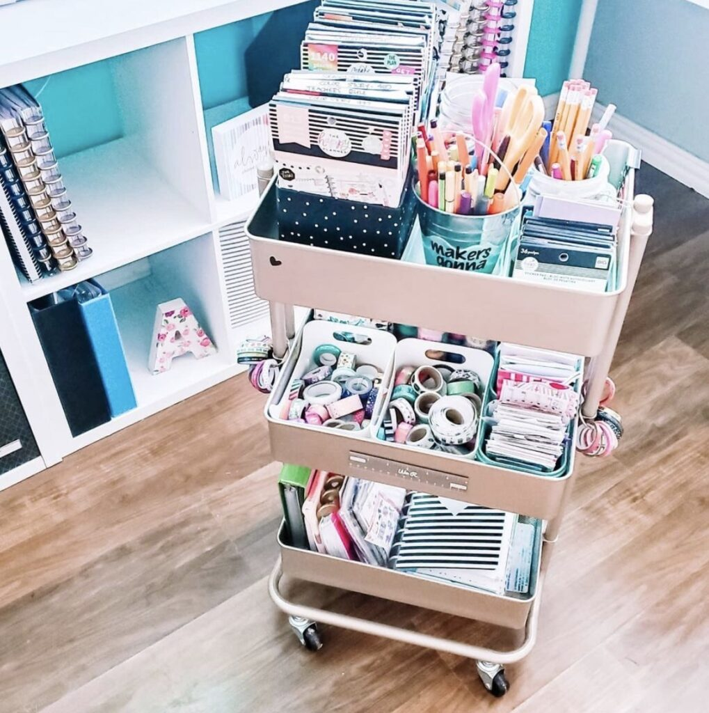 craft-storage-cart-for-stickers-rachelthrived