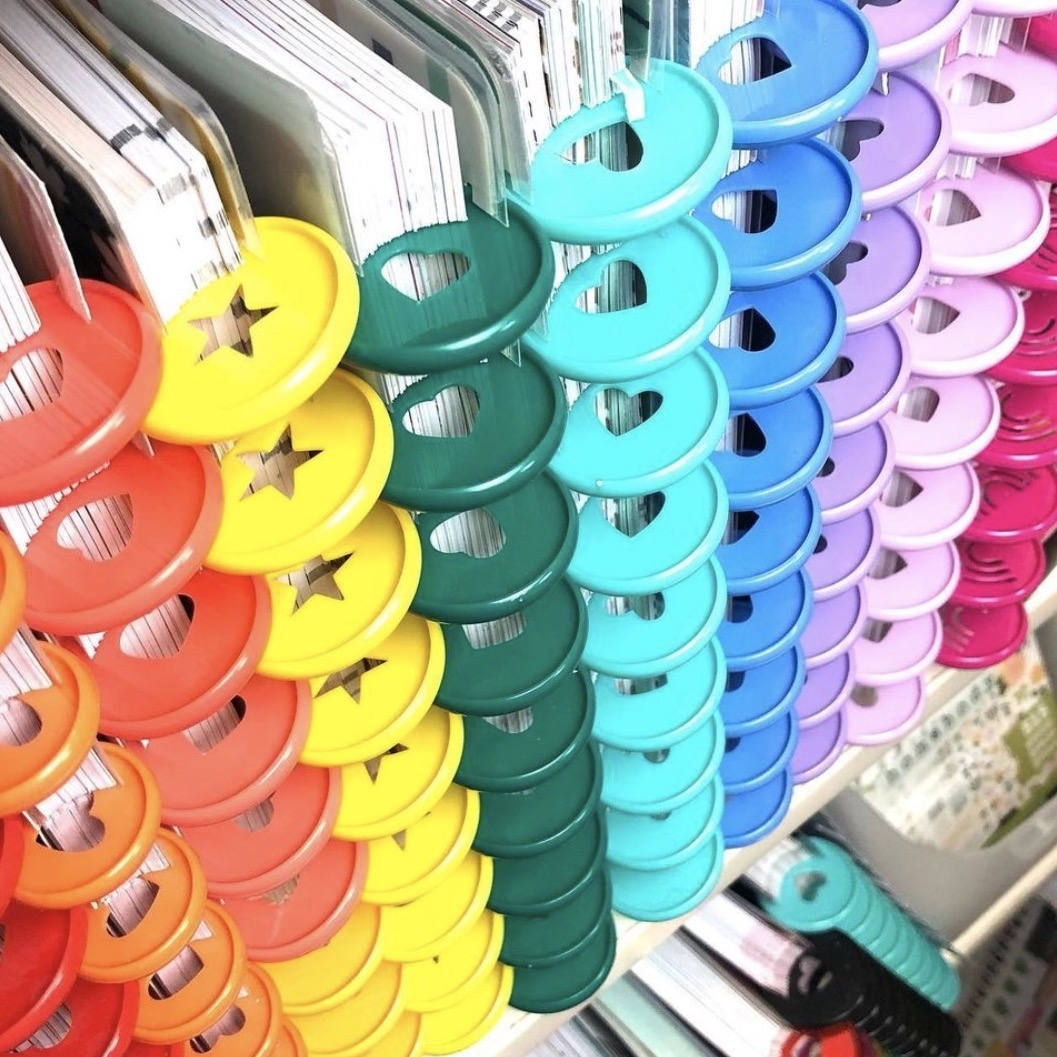 rainbow planner ideas for your Happy Planner
