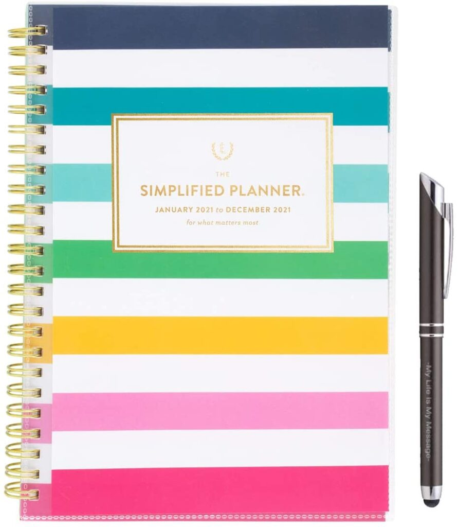 simplified planner for creatives