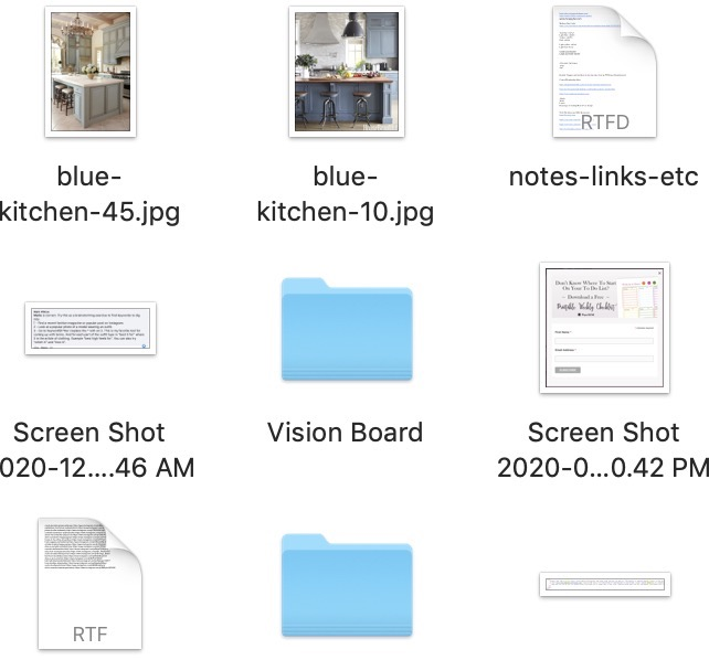 vision-board-folder