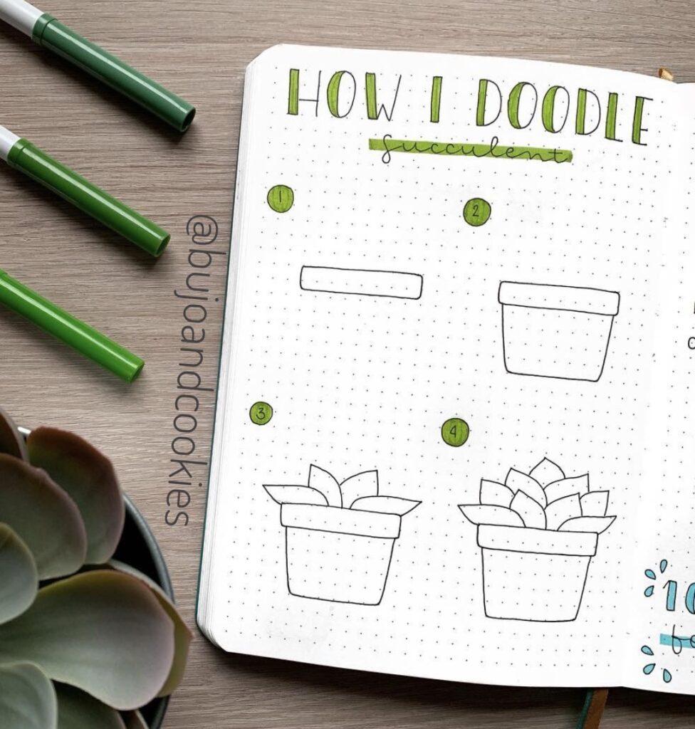 easy-doodle-cactus-bujoandcookies