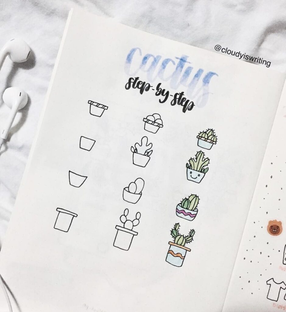 mini-succulent-drawings-in-containers-cloudyiswriting