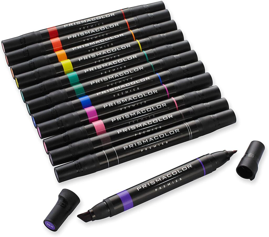 prisma color markers for planners
