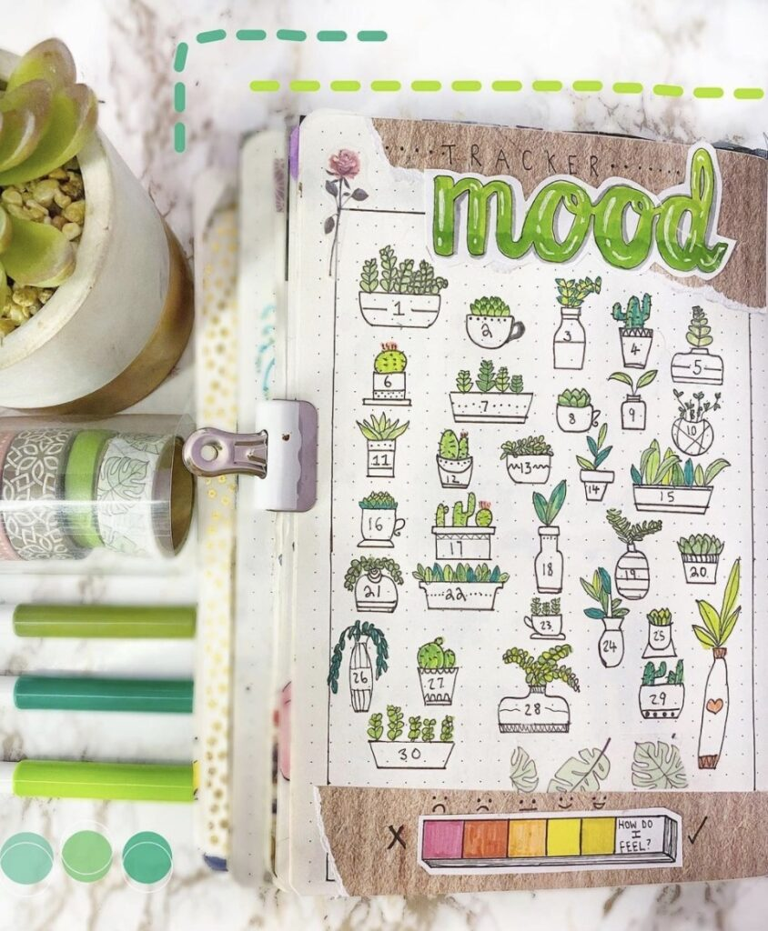 succulent-mood-journal-journalcloud