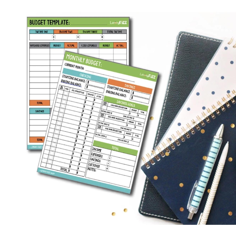 budget-printable