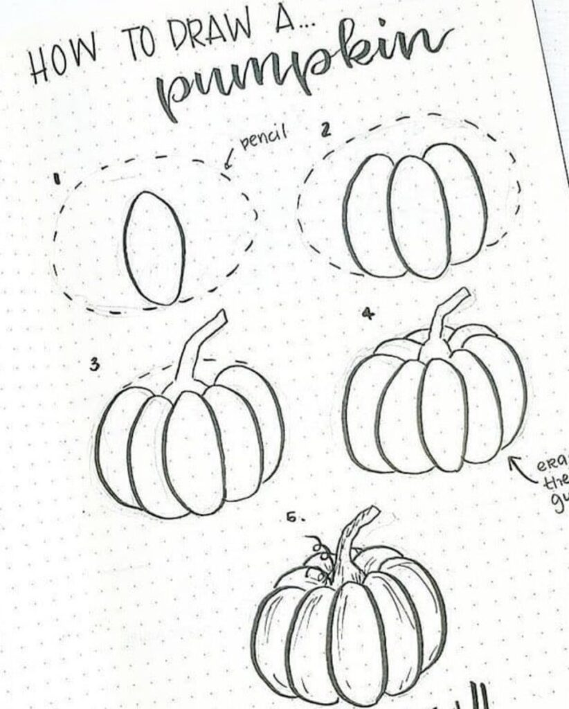 how-to-draw-pumpkin-doodle-for-your-bujo