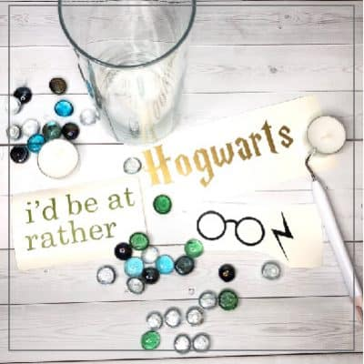 I'd rather be at Hogwarts vinyl cut file.