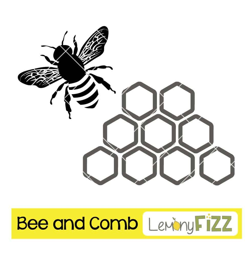 Bee and honeycomb design for cutting machines.